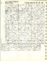 Map Image 001, Olmsted County 1965